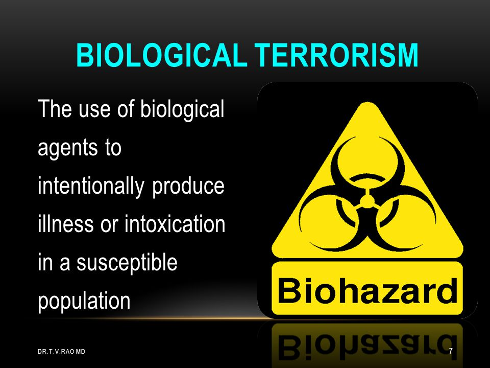 CLASSIFICATION OF BIOTERRORISM LABORATORIES Level-A Labs - Assess Risks for Aerosols and Use Biosafety Cabinet A - Adequate safety to rule-out and forward organisms Level B Lab Work at BSL-3 with BT agents B - Safety and proficiency adequate to confirm & characterize susceptibility Level C Lab BSL-3 C - Safety and proficiency sufficient to probe, type, perform toxigenicity testing Safety & proficiency to probe for universe of bio- and chemical agents in non-clinical specimen D - High level characterization (seek evidence of molecular chimeras) and secure banking of isolates Level D Lab BSL-4 DR.T.V.RAO MD 38
