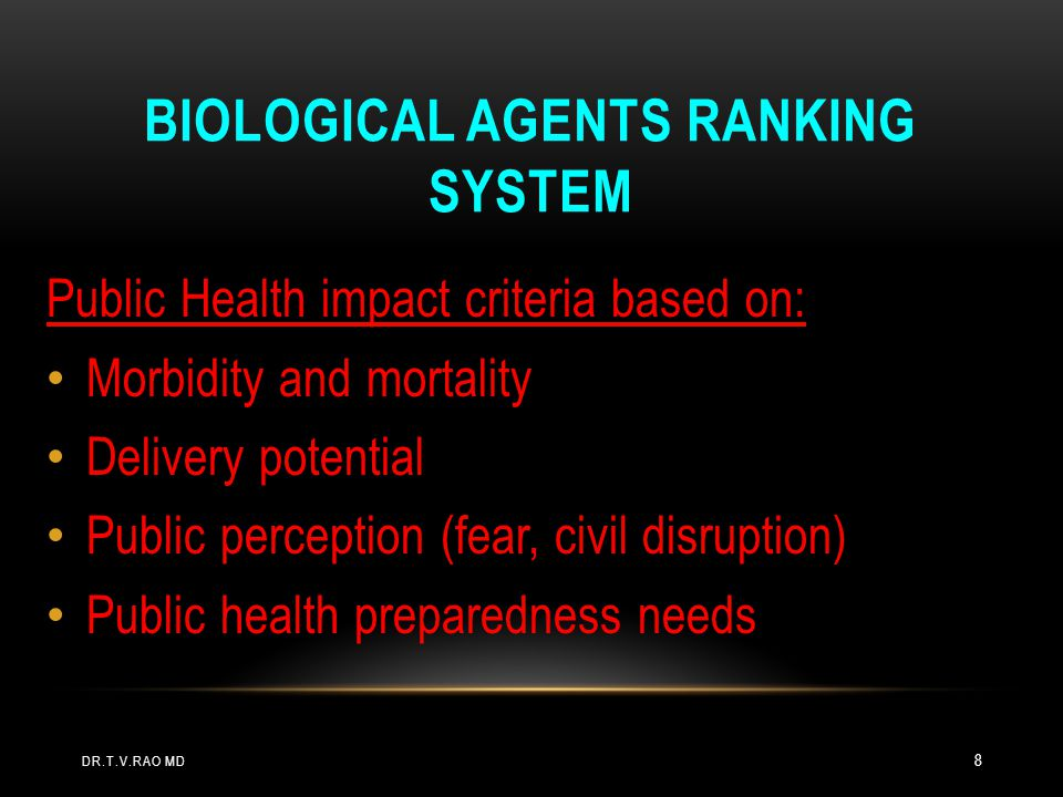 IMMEDIATELY NOTIFY: Hospital Infection Control Isolation: Smallpox, plague, hemorrhagic fevers Laboratory Hospital Administration Local Public Health Department WHAT TO DO IF YOU SUSPECT A BIOTERRORIST DISEASE DR.T.V.RAO MD 39