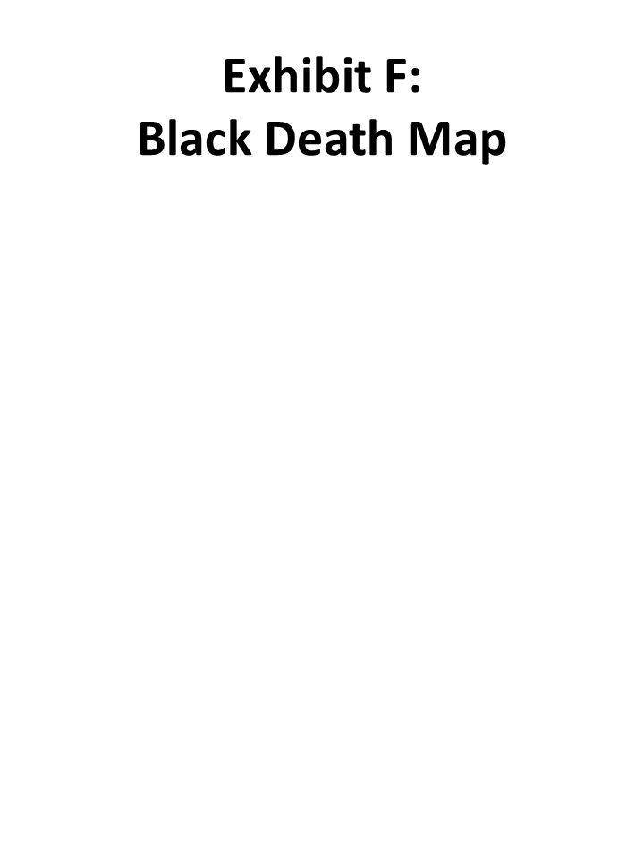 Exhibit F: Black Death Map
