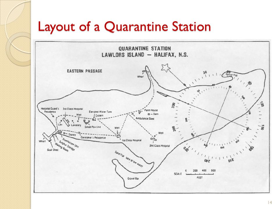 Layout of a Quarantine Station 14
