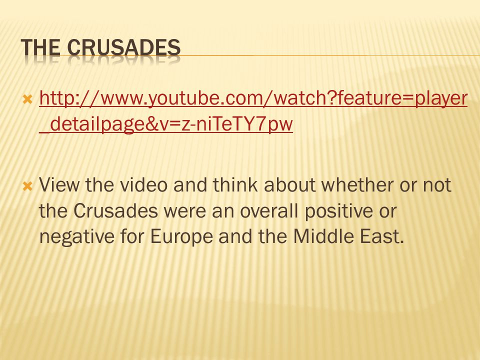PRE-CRUSADESPOST-CRUSADES/PLAGUE  Kings – held control over the kingdom's warring and taxation powers  Lords – held control over a manor and knights  Knights – held small parts of manor and fought for the Lord & King  Serfs – owned little and were bound to work the manor by Feudal law  Social hierarchy totally disrupted  Lords and Knights died on Crusade and by plague  Serfs died in great numbers by the plague  Result.
