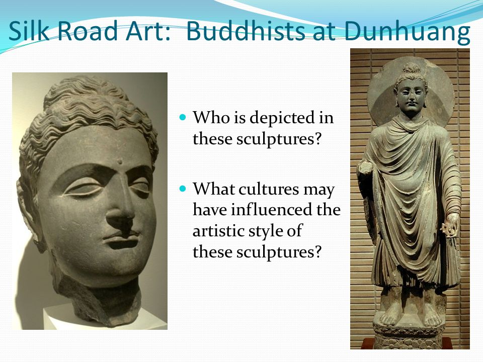Who is depicted in these sculptures.