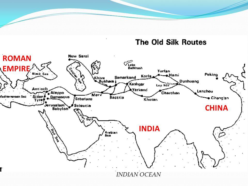 INDIA CHINA ROMAN EMPIRE INDIAN OCEAN