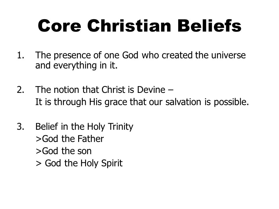 Concept of the Trinity The concept of the Trinity was debated among Christian and not reconciled until the fourth century.