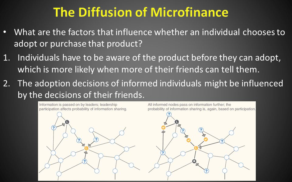 What are the factors that influence whether an individual chooses to adopt or purchase that product.