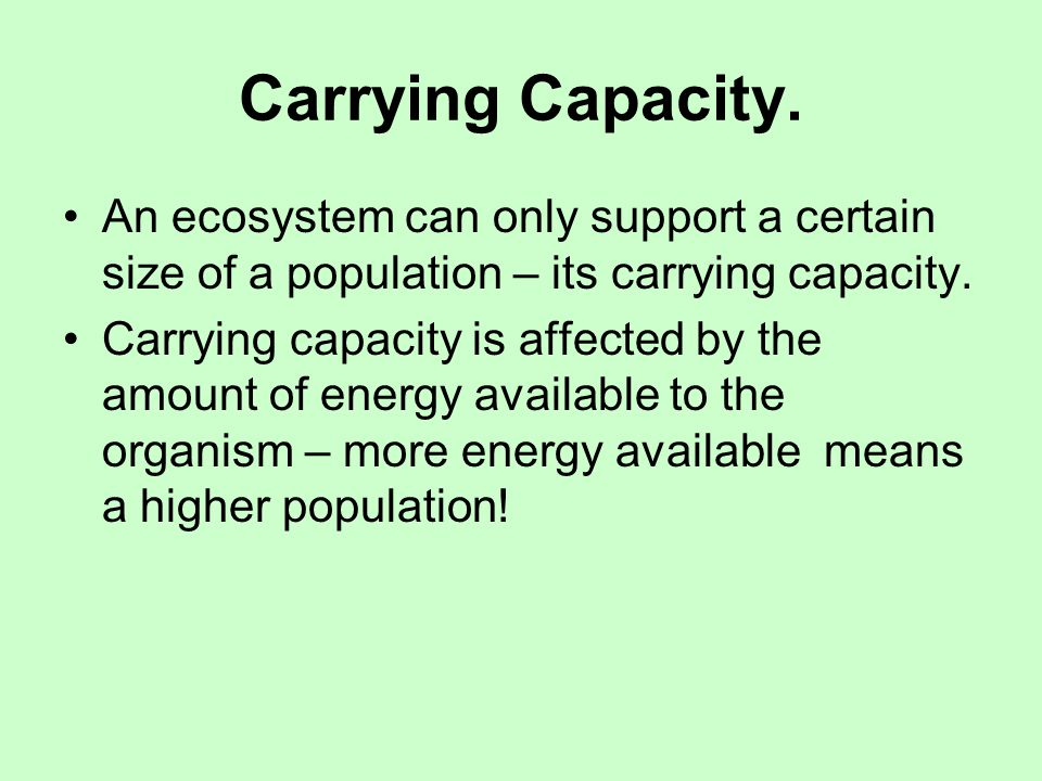 Population size can be affected by the following : Density dependent factors: These are any factors, dependent on the density of the population in question.