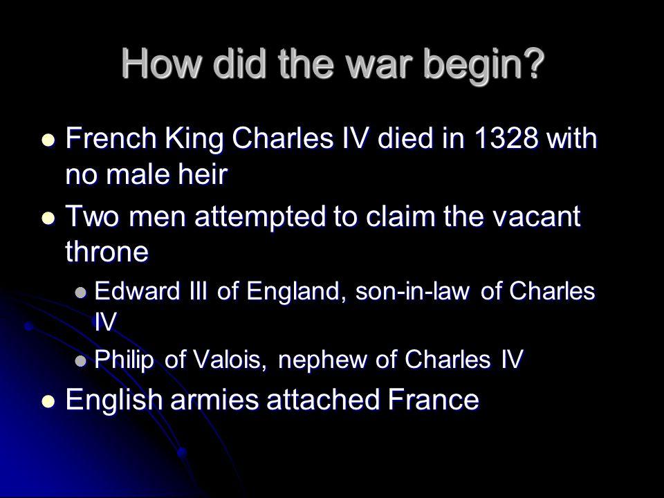Hundred Years' War, 1337-1453