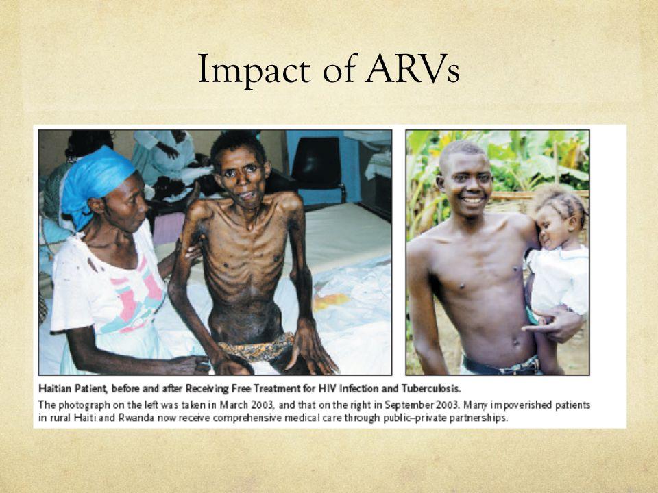 Impact of ARVs