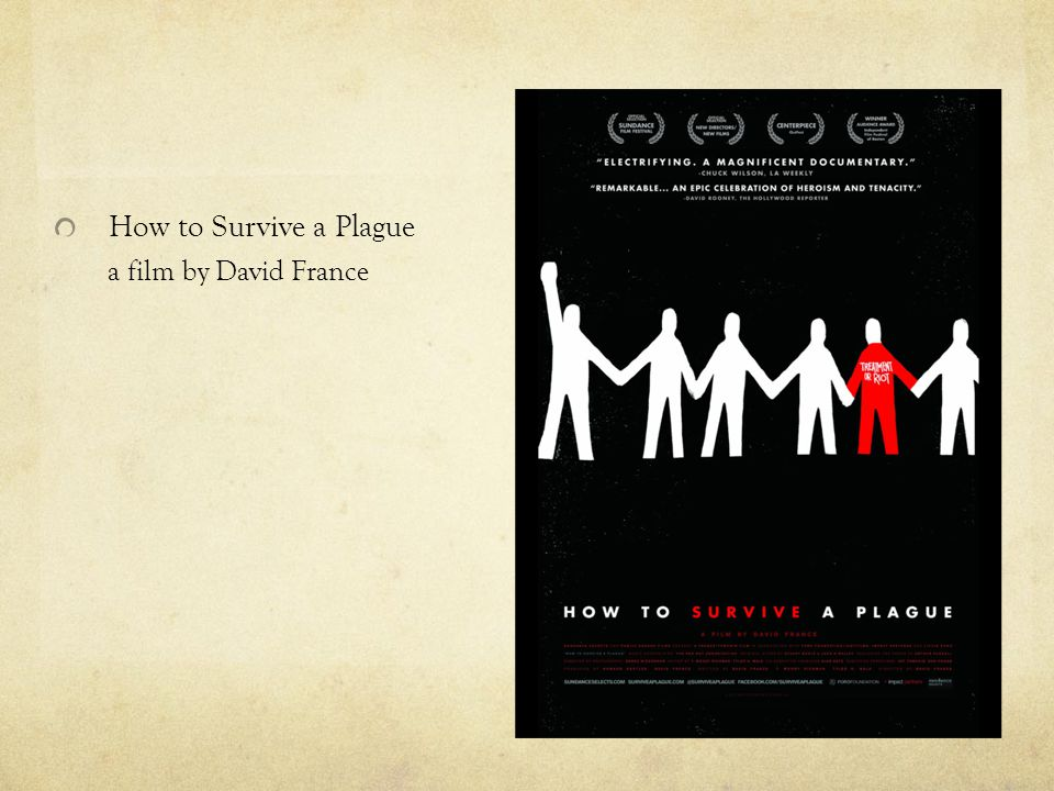 How to Survive a Plague a film by David France
