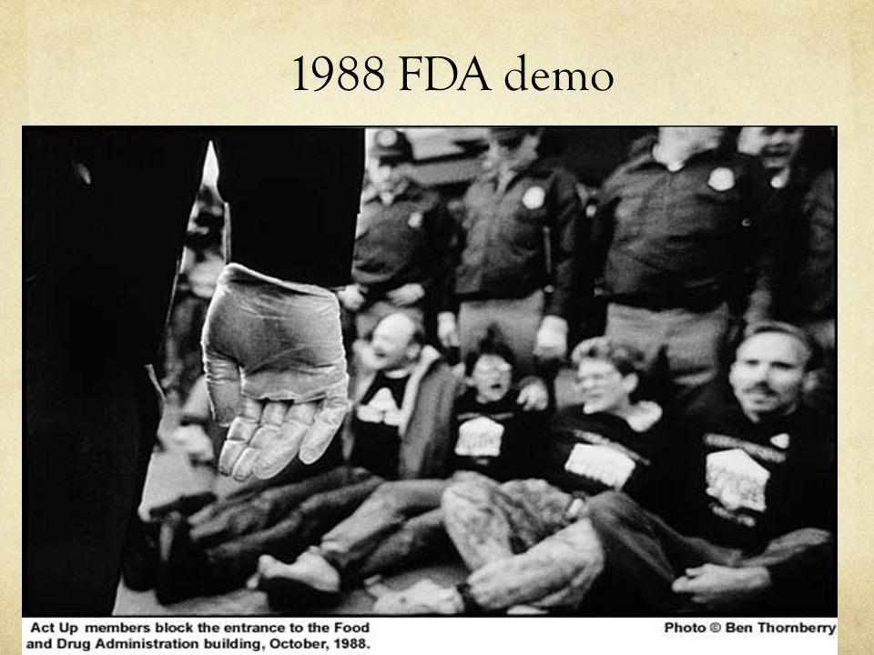 1988 FDA demo