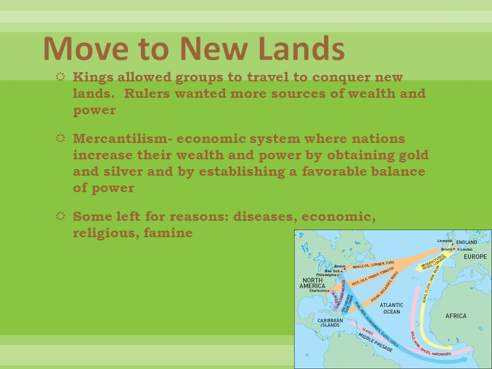  Kings allowed groups to travel to conquer new lands.