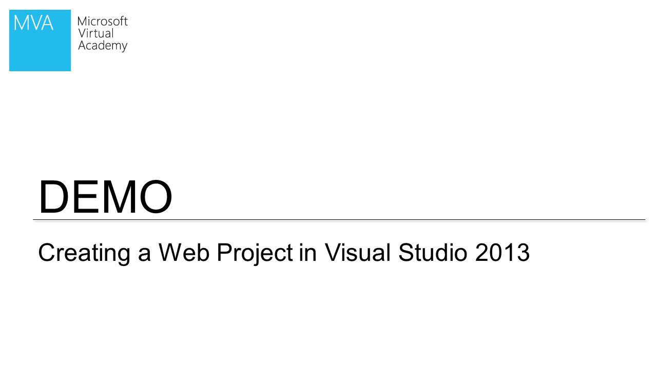 DEMO Creating a SharePoint 2013 App