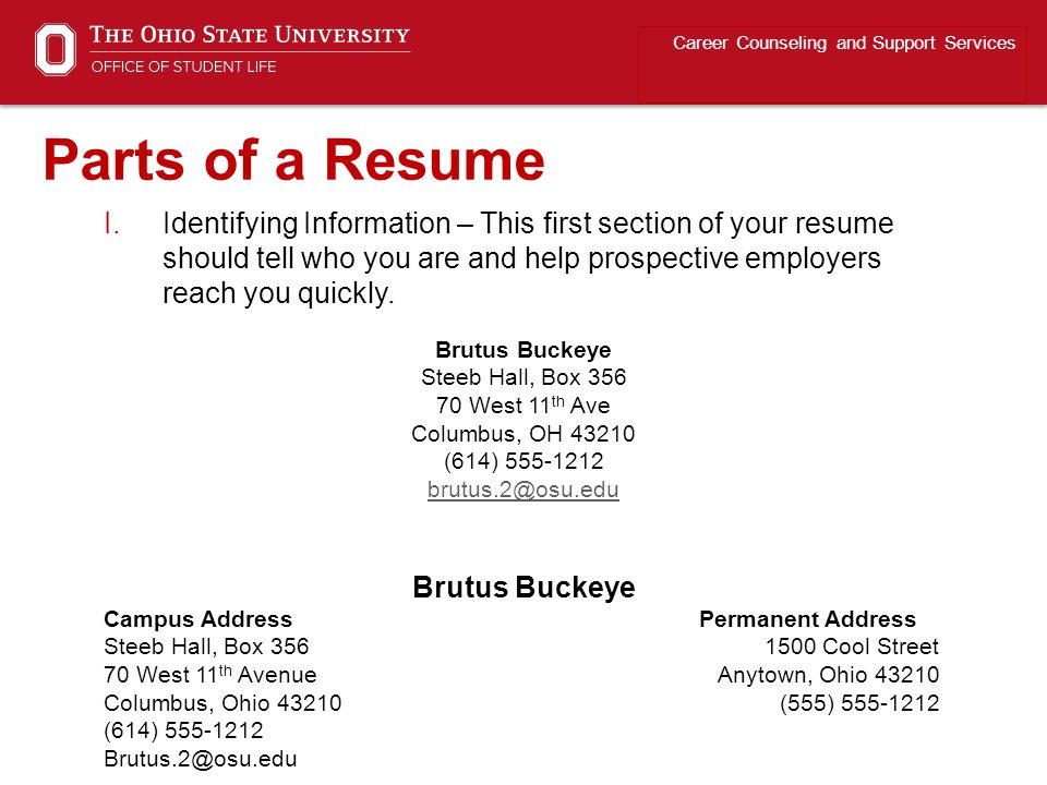Print your resume on quality bonded paper (best colors are lighter shades of white, ivory, off-white, and/or cream).
