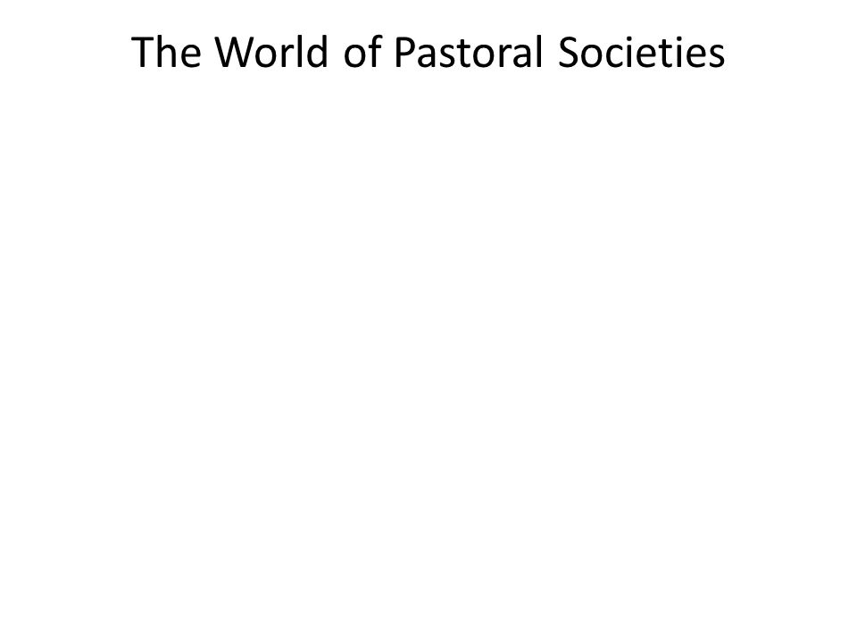 Connection: Which of the following developments associated with pastoral societies did NOT strengthen connections between cultural regions of the Eastern Hemisphere.