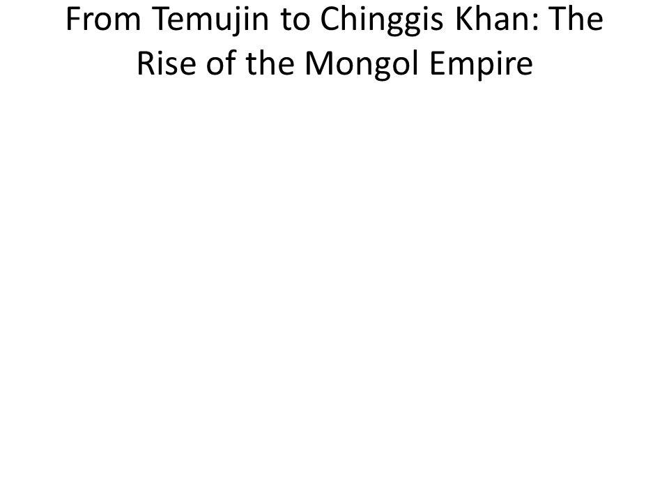 Explaining the Mongol Moment