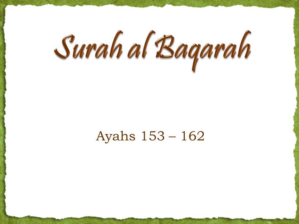 Ayahs 153 – 162