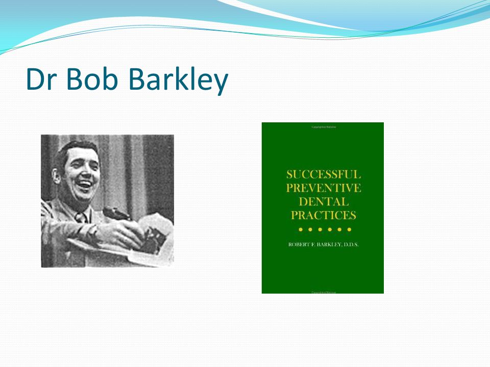 Dr Bob Barkley