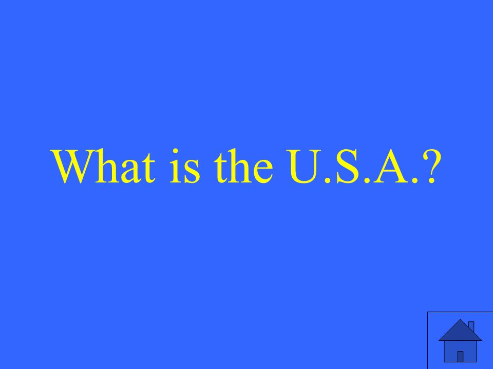 What is the U.S.A.