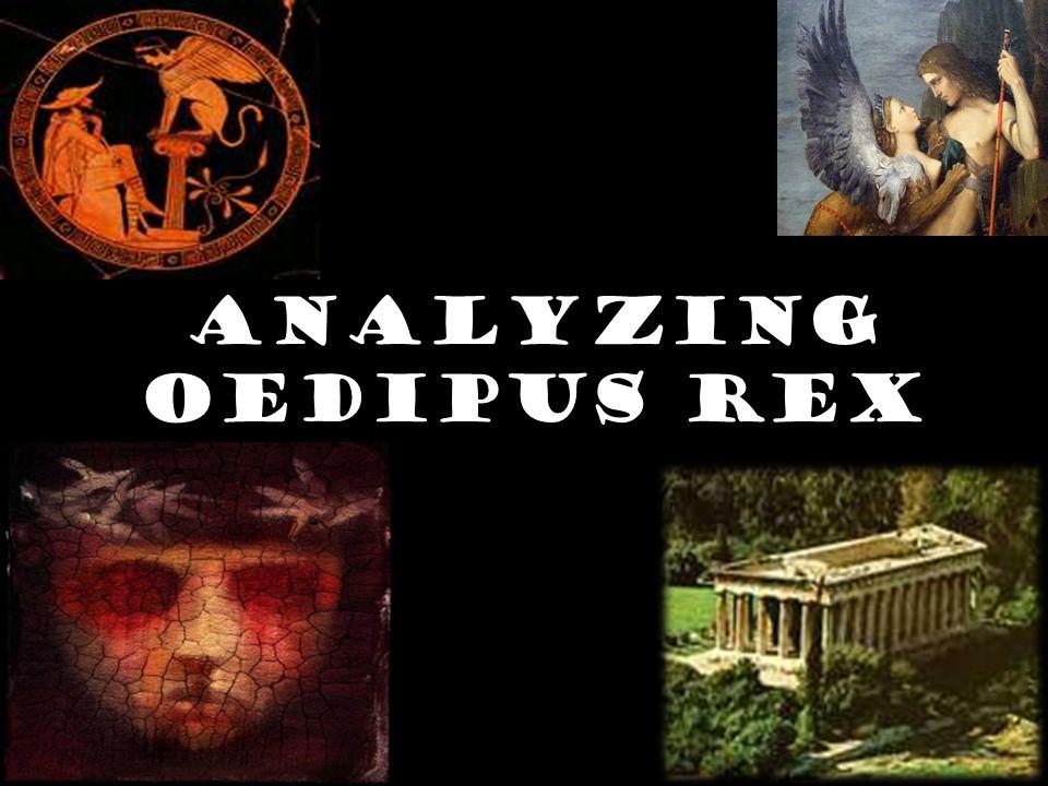 Analyzing Oedipus Rex