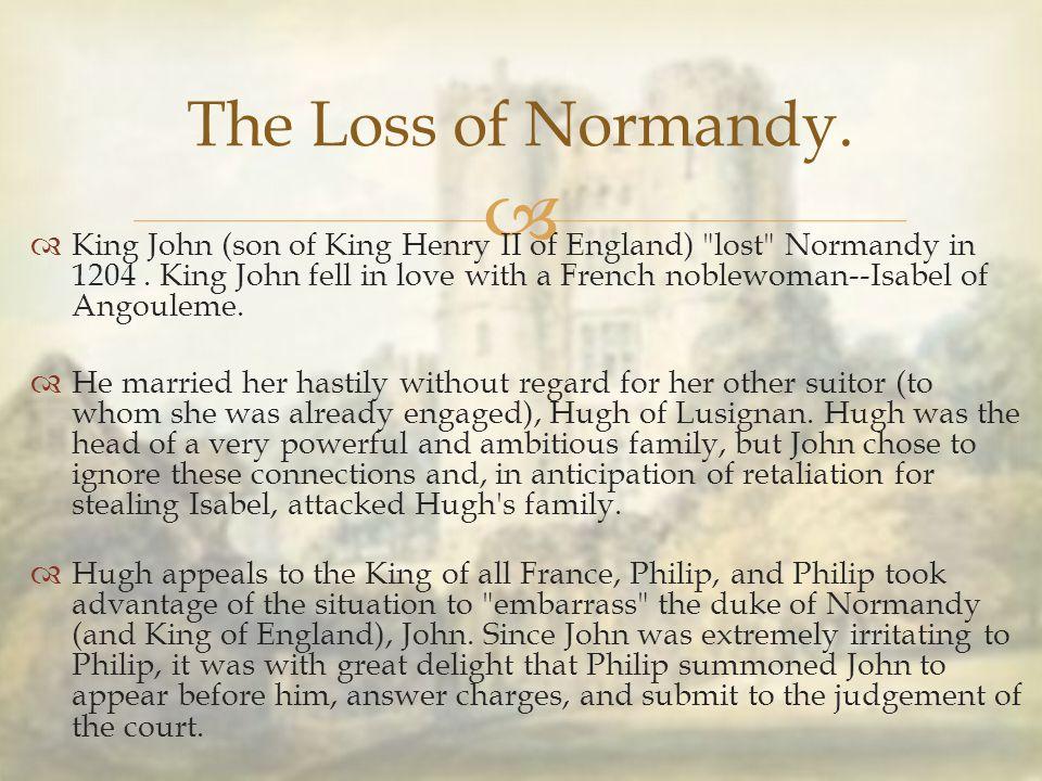   King John (son of King Henry II of England)