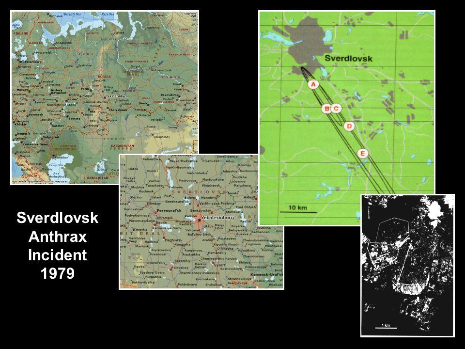 Sverdlovsk Anthrax Incident 1979