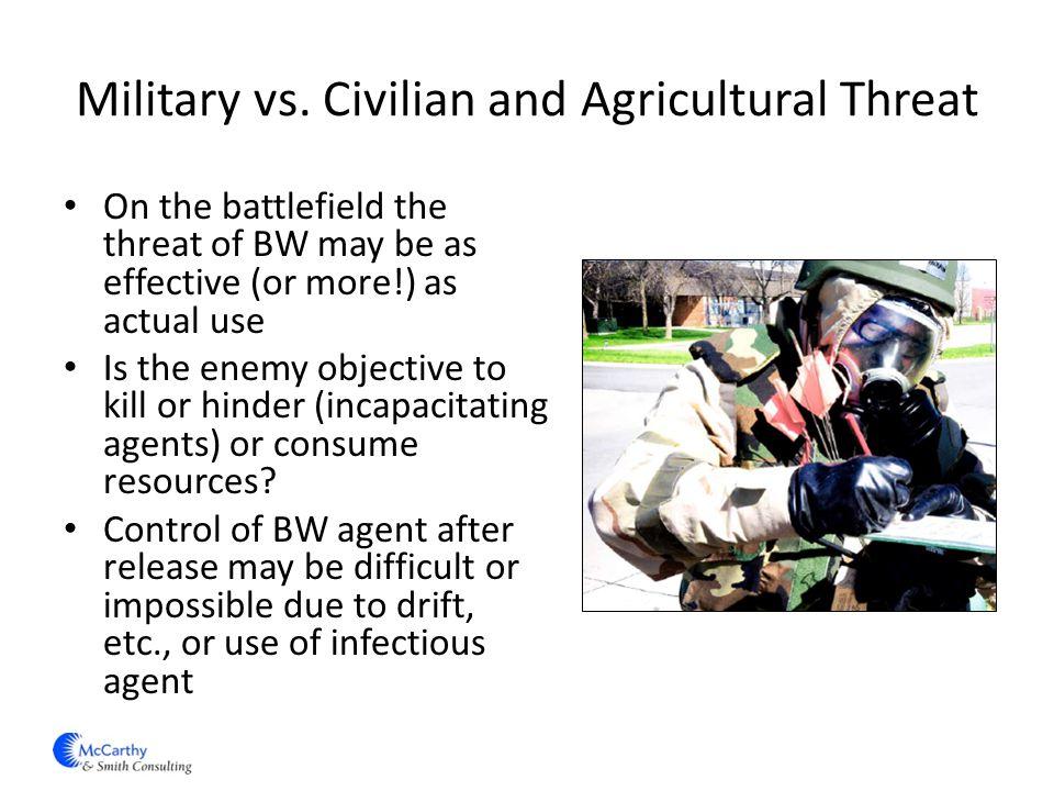 Military vs.