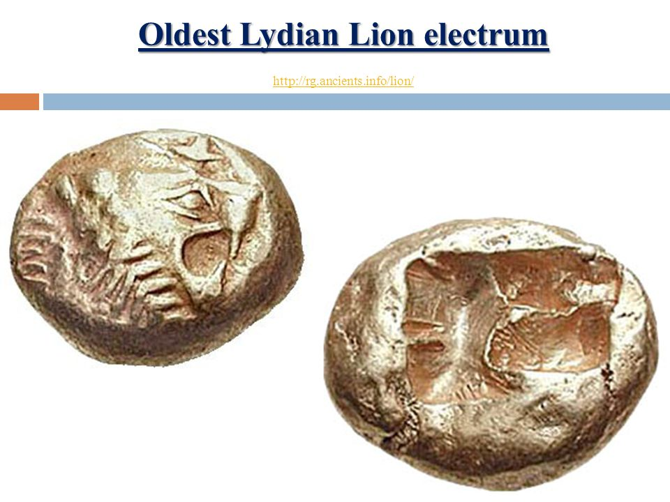 Oldest Lydian Lion electrum Oldest Lydian Lion electrum http://rg.ancients.info/lion/ http://rg.ancients.info/lion/