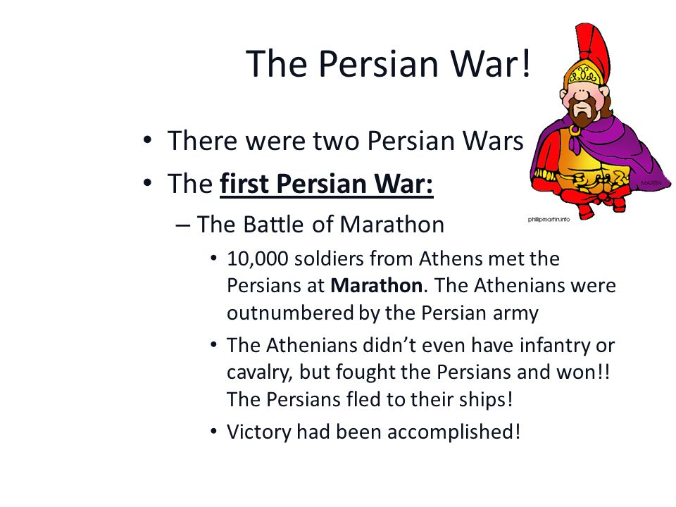 The Persian War.