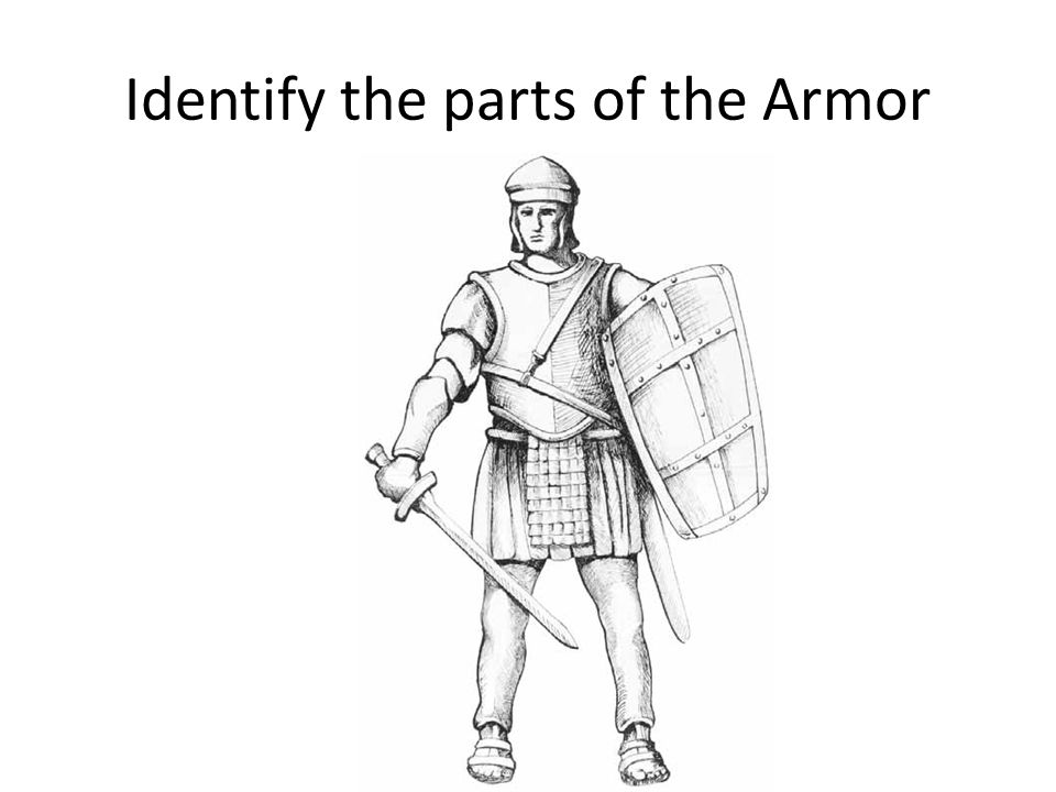 Identify the parts of the Armor