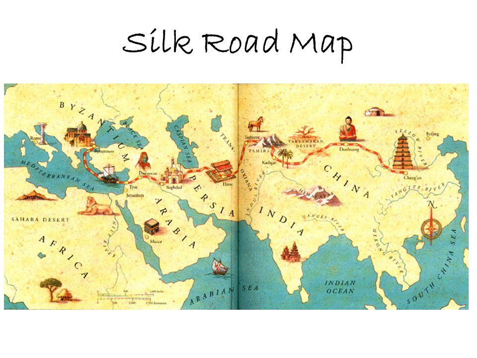 Silk Road Map
