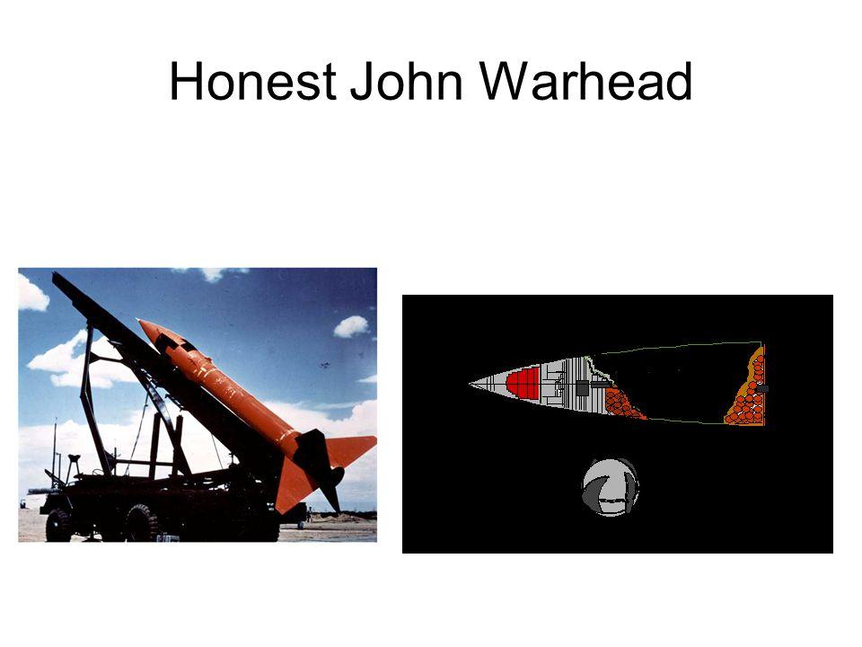 Honest John Warhead