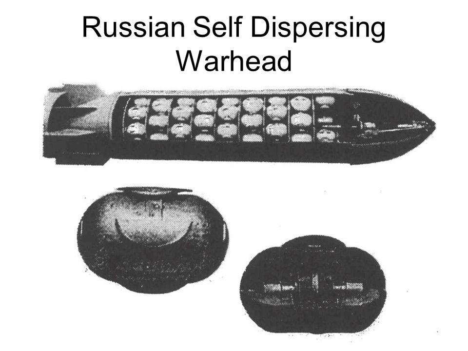 Russian Self Dispersing Warhead