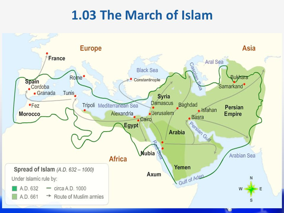1.03 The March of Islam