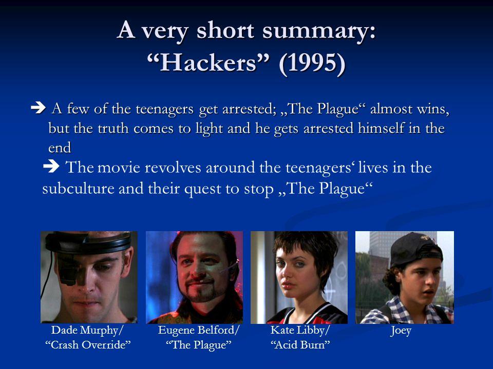 Hacker Ethics : in Hackers .