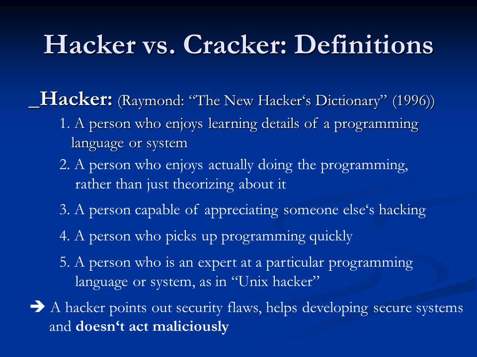 Hacker vs.