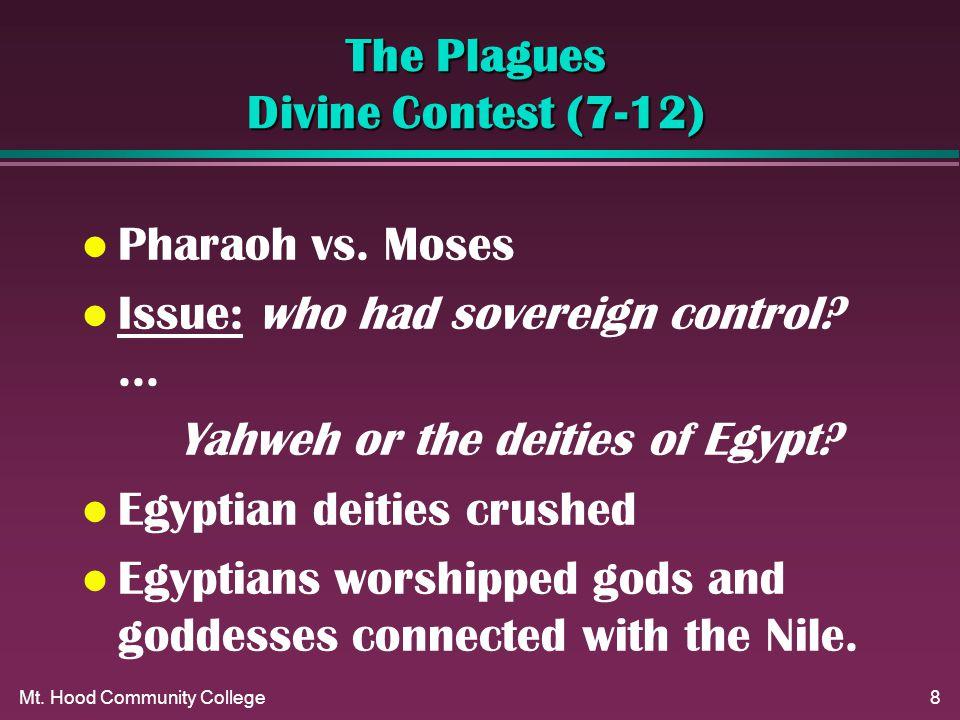 Mt. Hood Community College8 The Plagues Divine Contest (7-12) l Pharaoh vs.