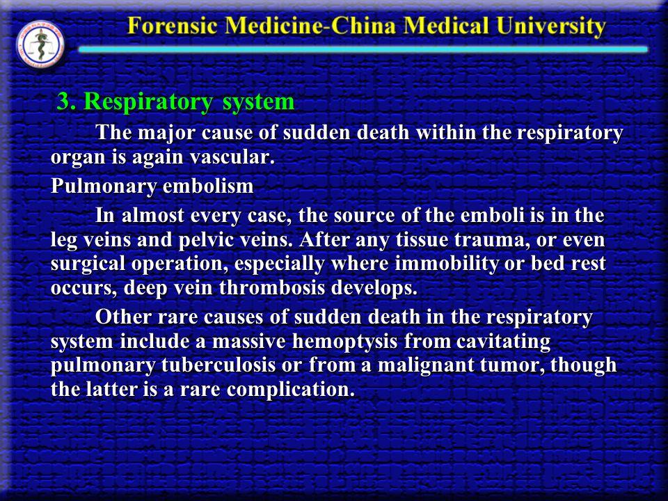 3. Respiratory system 3.