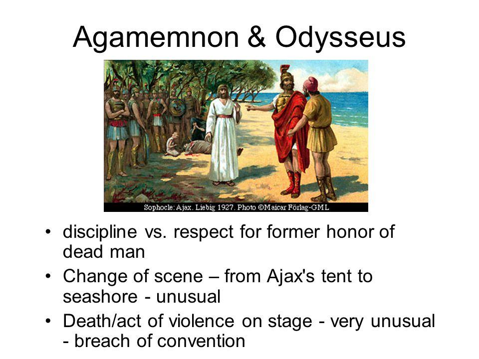 Agamemnon & Odysseus discipline vs.