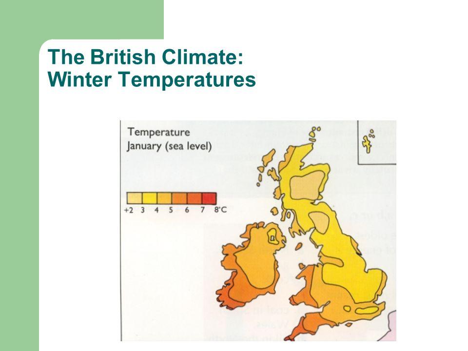 The British Climate: Winter Temperatures