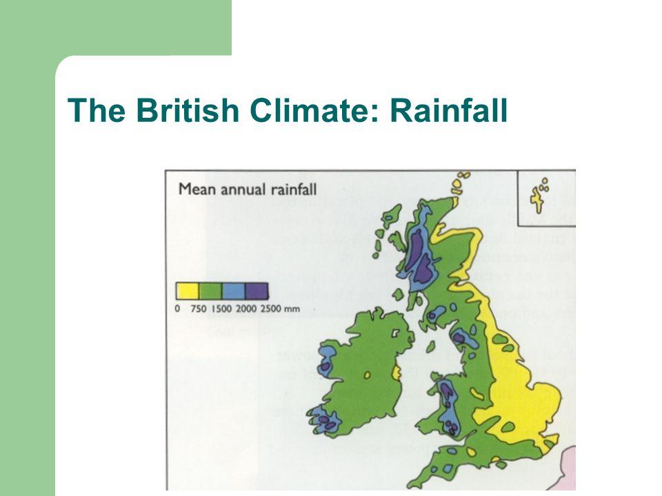 The British Climate: Rainfall