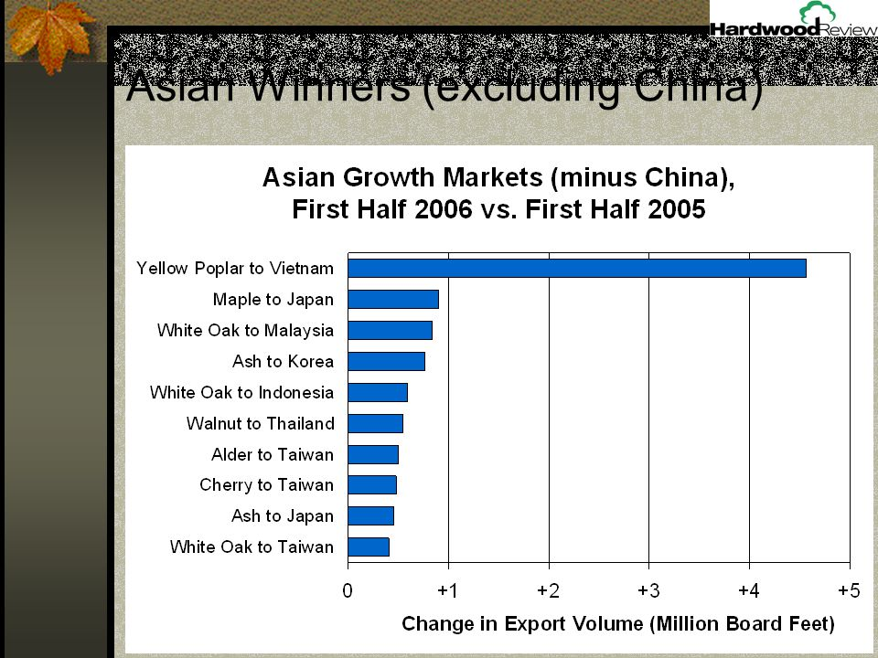 Asian Winners (excluding China)