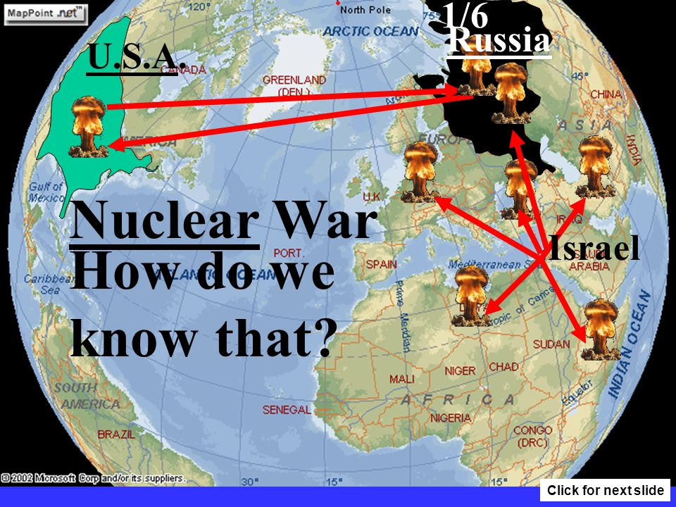 Ezekiel 38:10-12 Why would Russia invade Israel? To take a spoil. Click for next slide