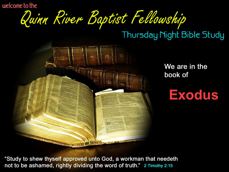 Last Week: Moses Calling and Excuses Exodus Chapters 1-4 – 80 years of Moses life, and the Burning Bush Incident Man has not changed: The 5 primary excuses we still use today 1) Who am I.