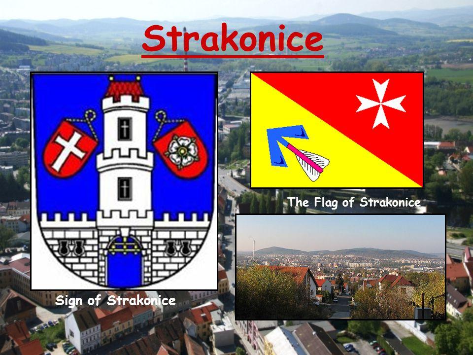 Strakonice Sign of Strakonice The Flag of Strakonice