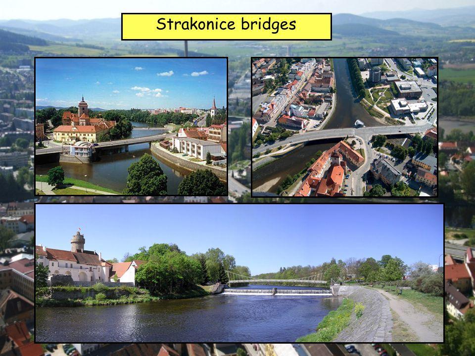 Strakonice bridges
