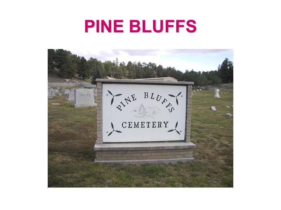 PINE BLUFFS