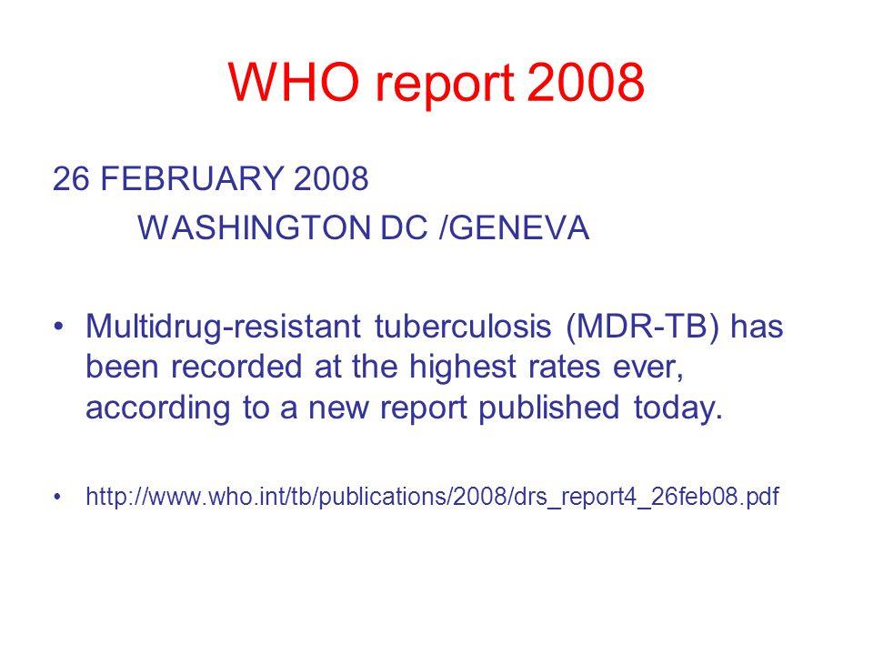 Political problems Different specialist bodies Chest Physicians ID Physicians Paediatricians Microbiologists Public health doctors Specialist TB nurses