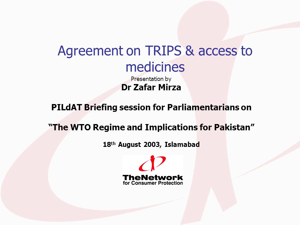 The emergence of TRIPS One of the new areas in the multilateral trade regime Three industries pushed it: pharmaceutical; software; motion pictures IPR scene before the TRIPS agreement