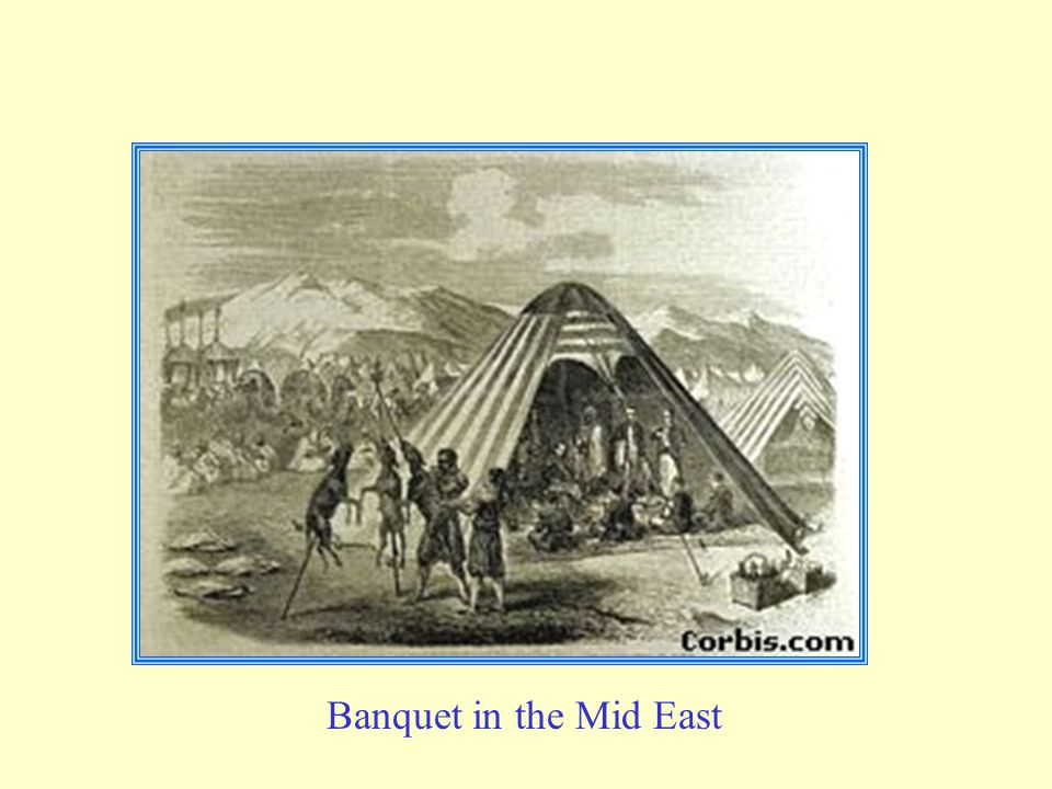 Banquet in the Mid East