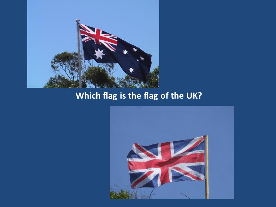 Which flag is the flag of the UK?